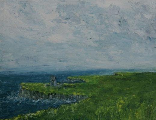 """""""Steilküste"""" Öl auf Leinwand, 30x24, 2009 Preis auf Anfrage"""