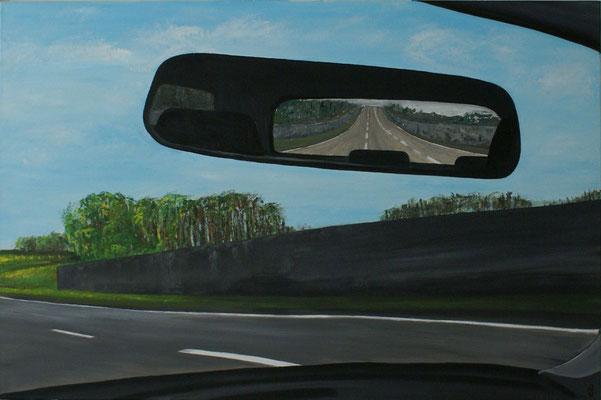 """On my way"", Öl auf Leinwand, 120x80, verkauft"
