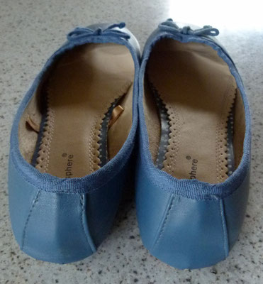 Atmospere Ballerinas in blau