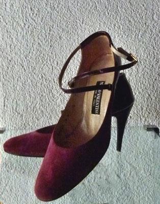 Mari Valentino Spangenpumps mit Stiletto-Absatz