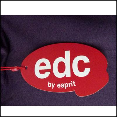 Longshirt/Minikleid edc by Esprit in dunklem Lila