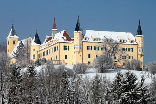 Winter auf Schloß St. Martin - Graz