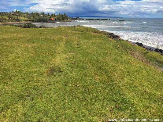 Tabanan beachfront land for sale