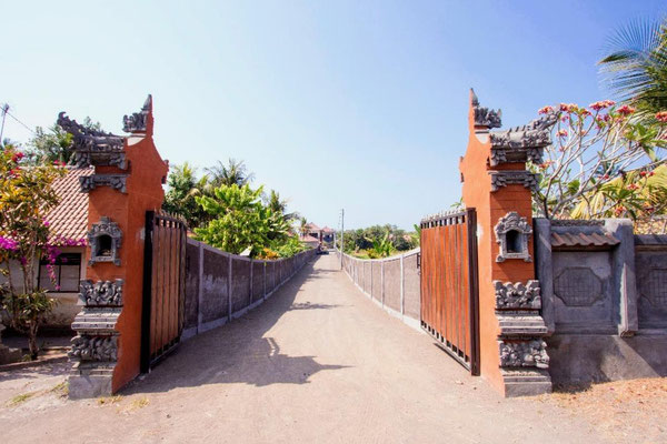 West Bali beachfront villa for sale