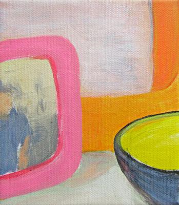 Traumhaus Zoom#2 _ Acryl auf Leinwand |  13x15cm, 2014