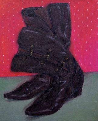 Stiefel _ Öl auf Leinwand | 50x40cm, 2008