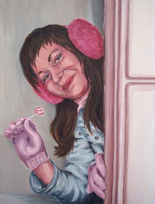 Lollipop _ Öl auf Leinwand | 100x80cm, 2005