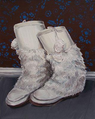 Eisbärstiefel _ Öl auf Leinwand | 50x40cm, 2005