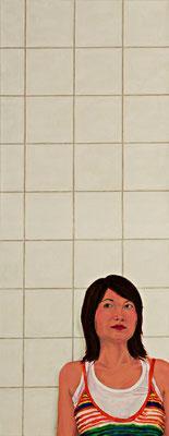 Haiying _ Öl auf Leinwand | 180x70cm, 2008