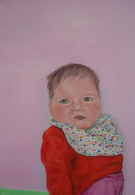 baby _ Öl auf Leinwand | 70x50cm, 2006