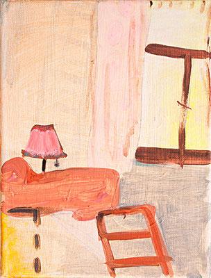 Room _ Acryl auf Leinwand | 24x18cm, 2014