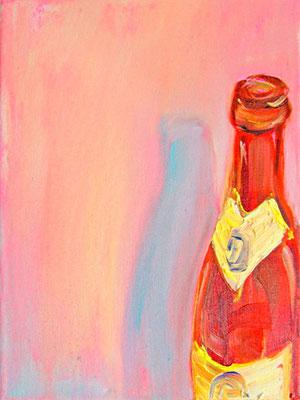 Sommerloch für Jessi #1 _ Öl auf Leinwand | 24x18cm, 2011