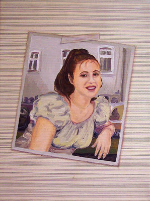 Album2 _ Öl auf Tapete / Leinwand | 40x30cm, 2010