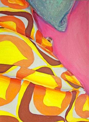 fiffi, schlafend #2 _ Öl auf Leinwand | 40x30cm, 2012