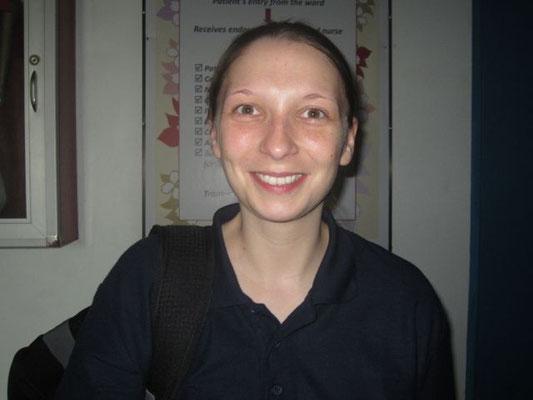 Sonja Faust, Anästhesieschwester