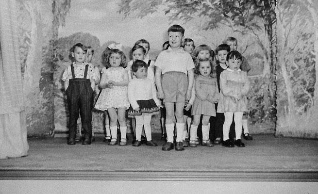(0418) Kinder, vorne: Siegbert Prahl, um 1962