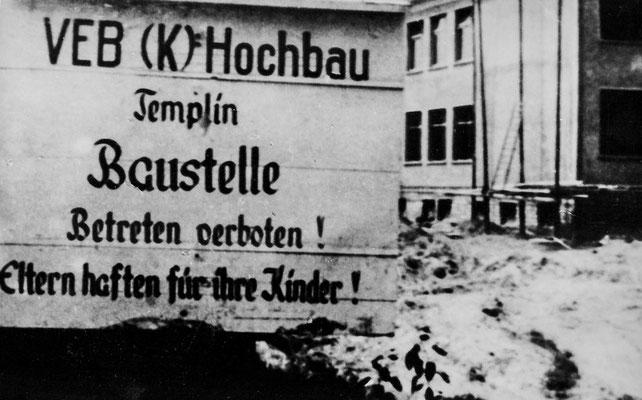 (0158) Bau der Schule