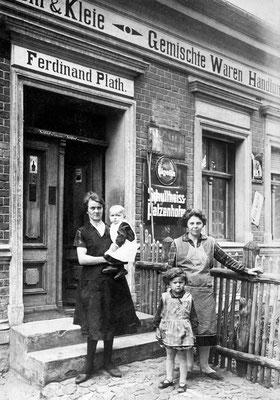 (0186) Gemischtwarenhandlung Ferdinand Plath, 1930