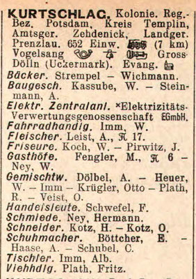 Adressbuch 1934
