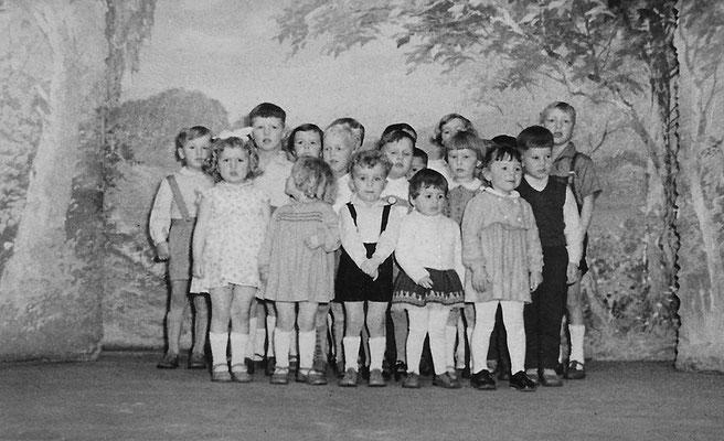 (0422) Theateraufführung in der Gaststätte Ney, um 1962