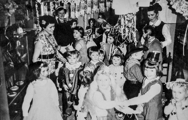 (0134) Kinderfasching, Gaststätte Ney, 1968
