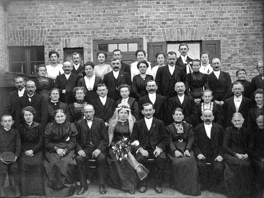 (0288) Hochzeit Herrmann Wissmann und Frieda Ney/Wissmann, 1919