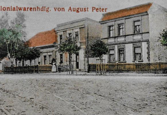 (165/1) Colonialwarenhandlung August Peter, 1918