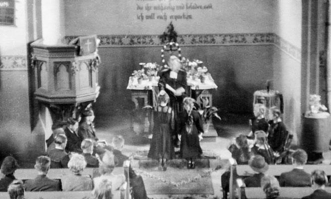 (0059) Konfirmation Erika Regling/Menzel, Christa Ney/Böbst, 1949