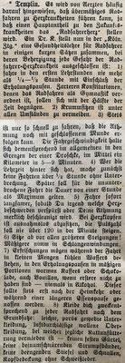 Gefährliches Radfahren, 3.8.1897
