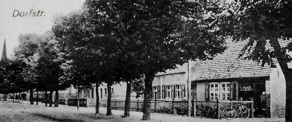 (197/2) Dorfstraße, Laden von Agnes Heuer, wohl 1941