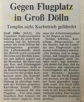 1. April 1998 Märkische Allgemeine Zeitung