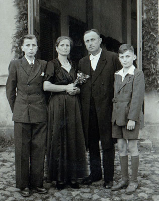 (401) Gaststätte Ney; Wilhelm Ney, Emma Ney, Gustav Ney, Gustav jun. Ney