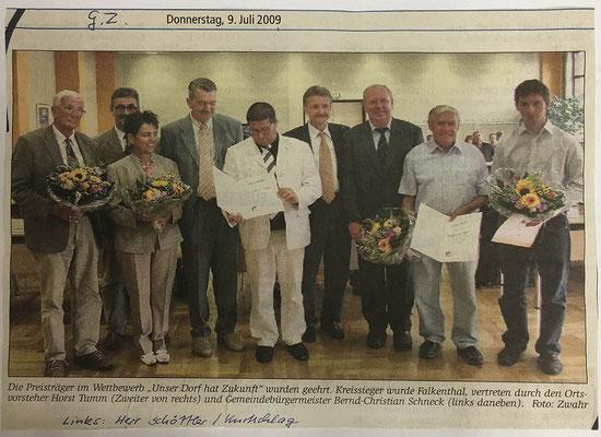 9.7.2009 Gransee-Zeitung