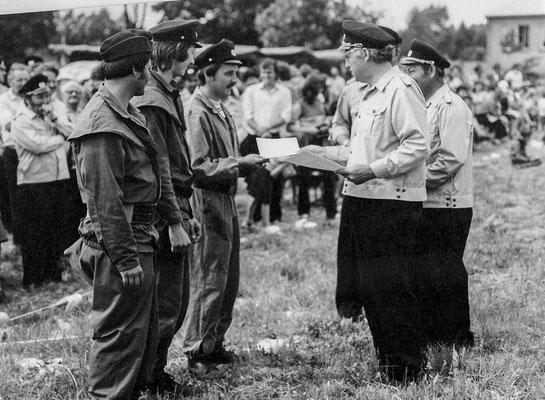 (313) Auszeichnungen zum 50jährigen Jubiläum der Feuerwehr, 1982