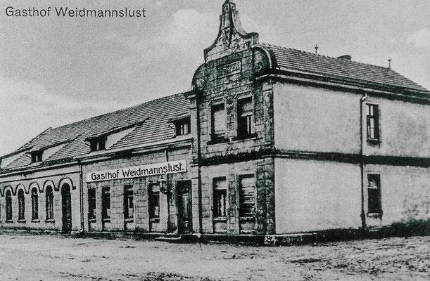 """(0259) Gasthof """"Weidmannslust"""", 1918"""