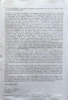 """2002 Bürgerinitiative """"Schorfheide"""" e.V., Seite 2"""