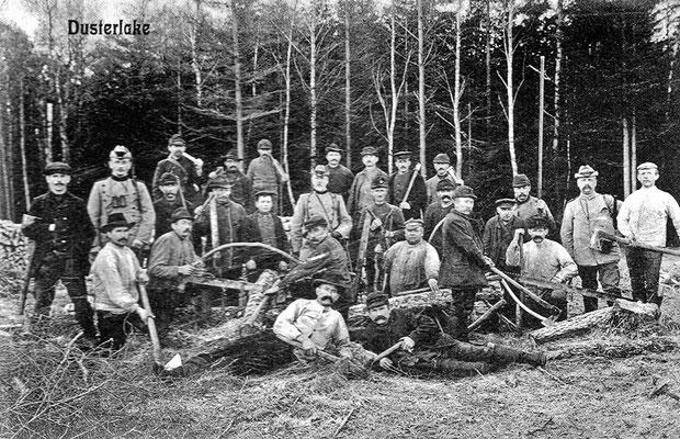 (0219) Forstarbeiter (Kurtschläger?), um 1900