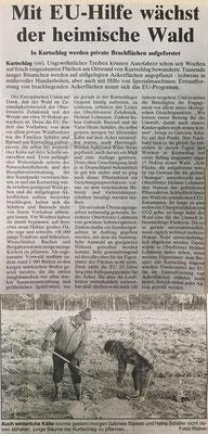 Aufforstung privater Brachflächen, 3.12.1997