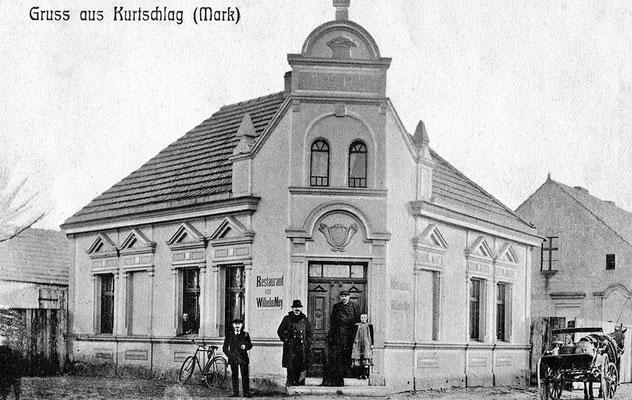 """(0282) Gaststätte (""""Restaurant"""") von Wilhelm und Auguste Ney, um 1915"""