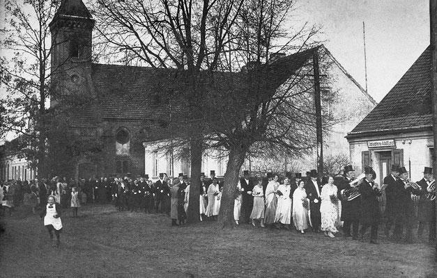 (0201) Hochzeit, um 1918