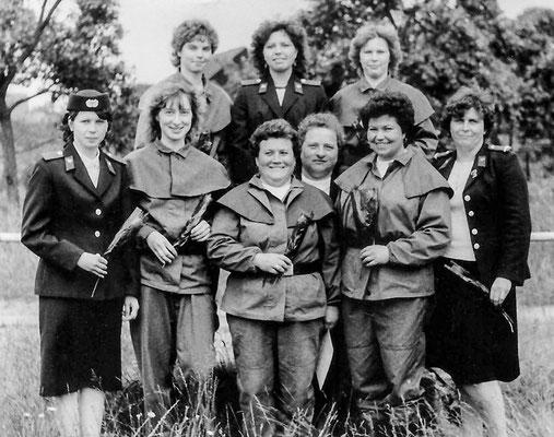 (318) Frauengruppe der Feuerwehr, 1981