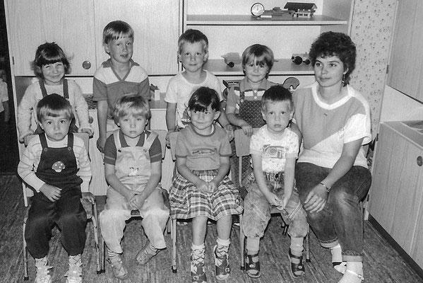 (0452) im Kindergarten, um 1970