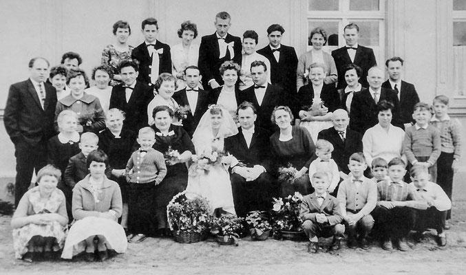 (0198) Hochzeit Horst Wichmann und Helga Engel/Wichmann