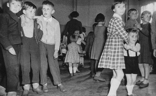 (0423) Kinder, Gaststätte Ney, Anfang 1960er Jahre