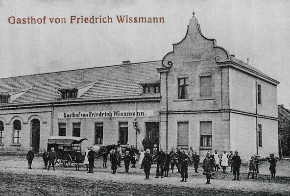 """(0128/1) """"Gasthof von Friedrich Wissmann"""", um 1916"""