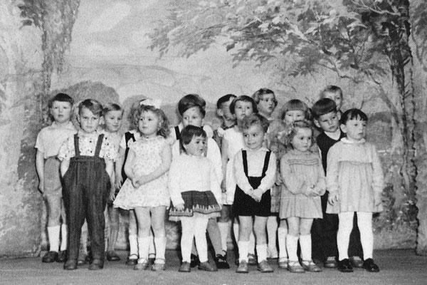(0479) Theateraufführung in der Gaststätte Ney, um 1962