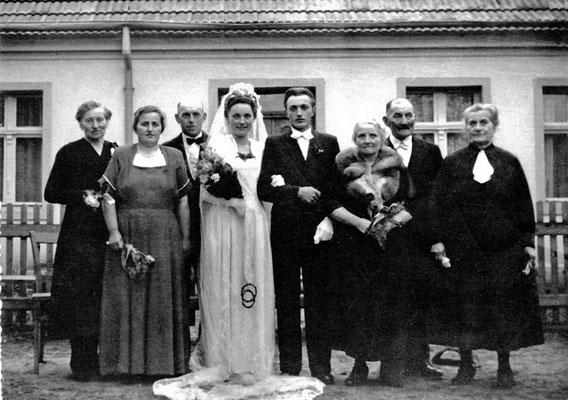 (0289) Hochzeit Horst Arnbeck und Elfriede Wissmann/Arnbeck, 1951