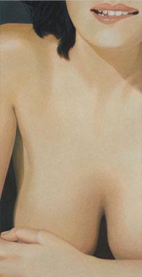 Na? | 2008 | 160 x 80 cm | Acryl auf Baumwolle