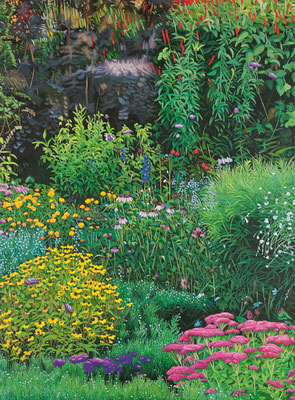 Garten Eden 1 | 2013 | 130 x 95 cm | Acryl auf Baumwolle