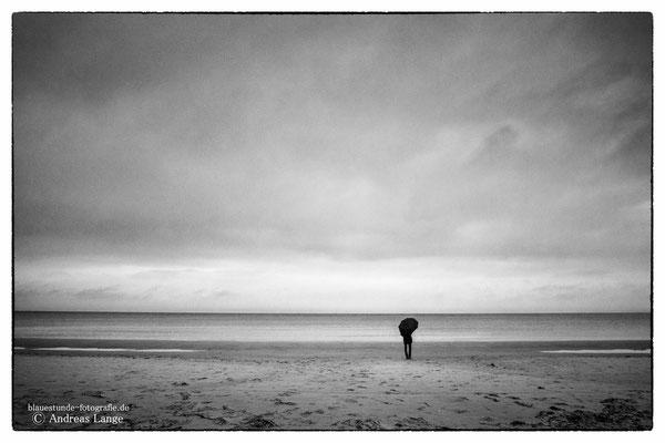 Regentag am Meer - Schaabe